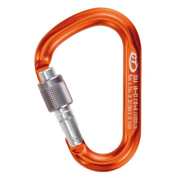 Climbing Technology - Carabiniera HMS Snappy SG Color Polished